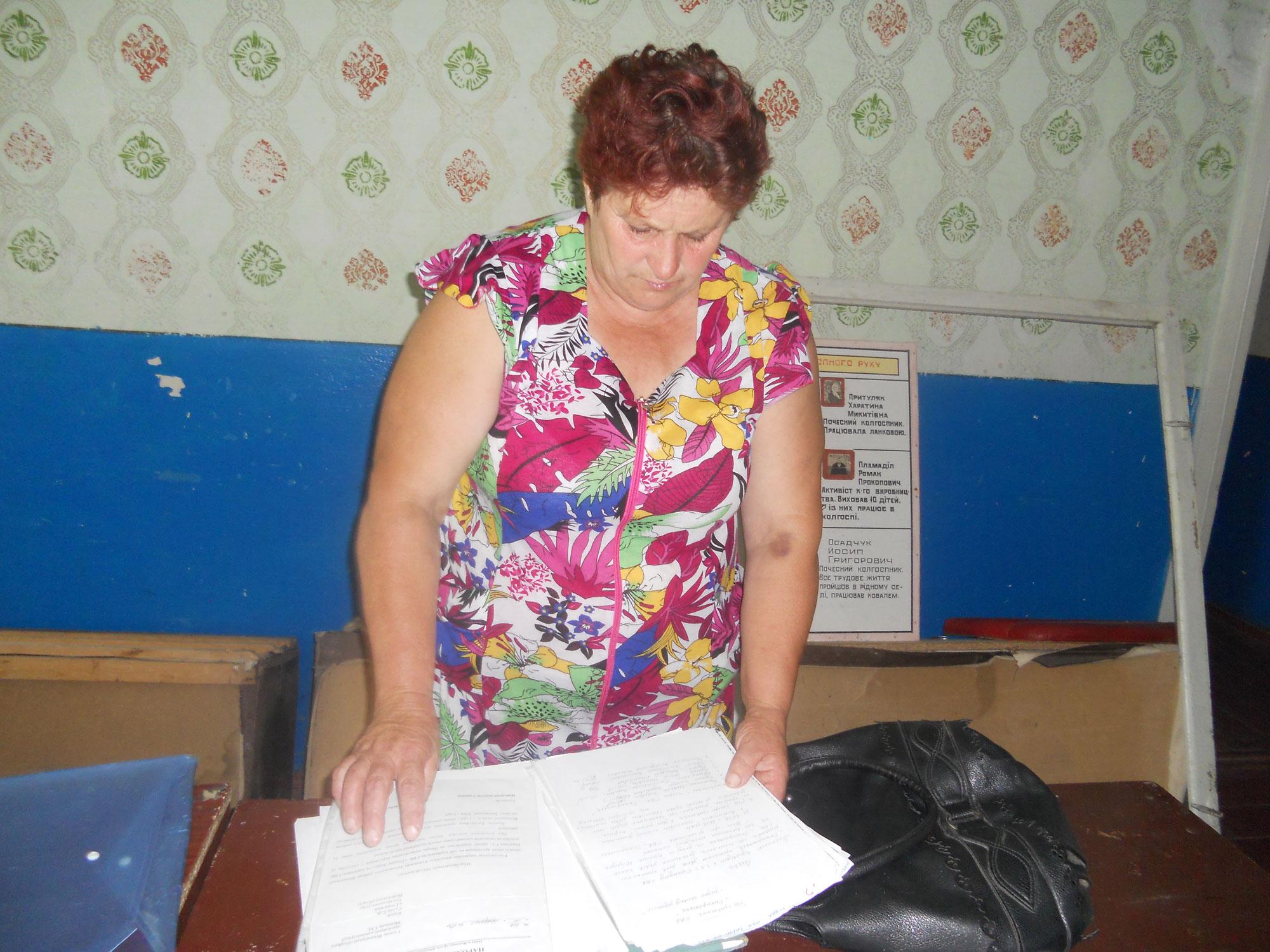 У 2013 році апеляційний суд Вінницької області визнав, що наше майно розпродали незаконно. З того часу нічого не змінилося, -говорить Катерина Суха