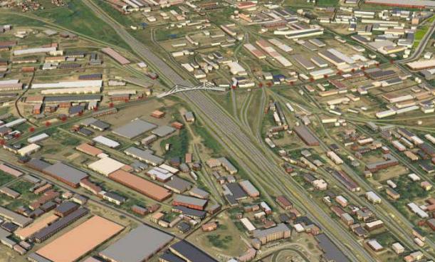 Щоб побудувати міст, у Вінниці під знос може піти кафе, гуртожиток та будівля  прокуратури