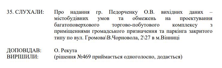 Затверджена стратегія міста, «земельні» конфлікти трьох депутатів та зміни в громадський бюджет – остання сесія Вінницької міськради